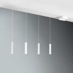 Lampadario CO-EASY SYSTEM 776 24W Led sospensione moderna multiluce vetro