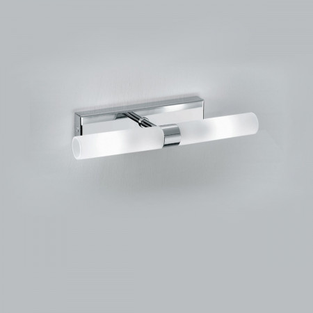 Applique Illuminando DON 2 CR G9 LED lampada parete soffitto moderna metallo pirex interno