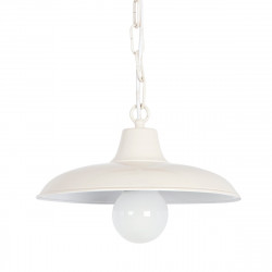 Suspension GR-799 S E27 LED 29CM externe lustre plat blanc graphite IP43
