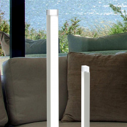 Abat-jour FB-RAY 2125 L 8W LED 600LM dimmbare Tischlampe aus Methacrylat-Weißmetall, modernes, hochmodernes Interieur