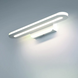 Applique moderne Cattaneo éclairage TRATTO 754 30A 15W Applique LED simple émission miroir carré 2000LM 3000 ° K IP20