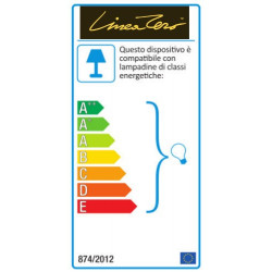 Piantana LZ-DECOLIGHT D123T DL E27 LED polilux cilindro colorato lampada terra moderna interno