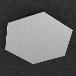 Applique TP-HEXAGON 1142 1D componente decorativo esagonale metallo verniciato parete soffitto moderna interno
