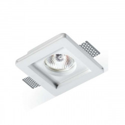 Faretto incasso LED gesso PAN International PARIDE INC1500 GU10 spot verniciabile scomparsa cartongesso IP20