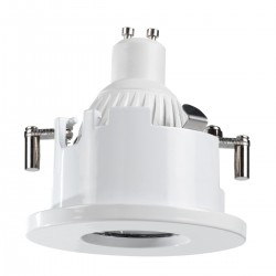 Faretto incasso PN-SAU INC1158 GU10 LED 7W 550LM tondo incasso controsoffitto interno IP44