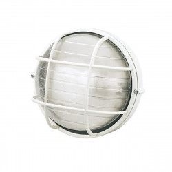 Applique externe Éclairage Sovil INDUSTRIAL ROUND 783 LED applique aluminium noir blanc 25CM E27 IP54