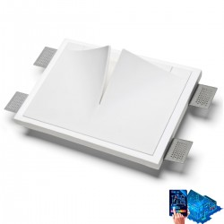 Applique incasso gesso 9010...
