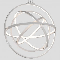 Lampadario Mantra ORBITAL 5741 90W LED 3250Lm 3000°K dimmerabile alluminio sospensione ultramoderna interno