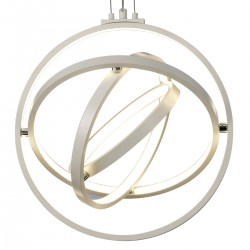 Lampadario Mantra ORBITAL 5742 54W LED 2000Lm 3000°K dimmerabile alluminio sospensione ultramoderna interno