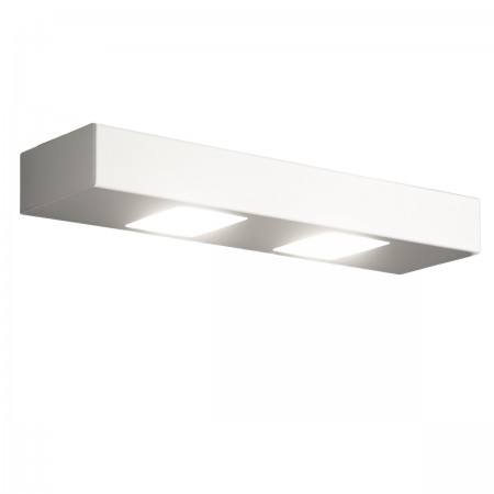 Applique Illuminando UP-DOWN 3+2 GX53 LED metallo biemissione lampada parete moderna interno