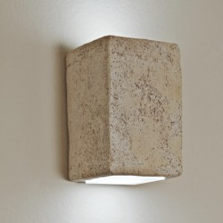 <span class='notranslate' data-dgexclude>Toscot</span> SMITH P123C 95 ° LED 3.5W 3000 ° K IP65 applique murale biémission rustiq