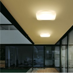 Plafoniera LED Linea Light Group MYWHITE 7807 Q polietilene lampada soffitto parete