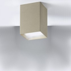 Plafonnier moderne Cattaneo Lighting CUBICK 768 7P 8.7W Plafonnier LED dimmable metal cube 740LM 3000 ° K IP20