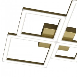 Plafoniera Top Light FOUR SQUARES 1162 69W LED 4950LM lampada soffitto classica moderna interno