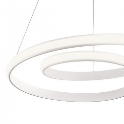 Lampadario moderno Redo TORSION 1795 40W LED sospensione dimmerabile interno