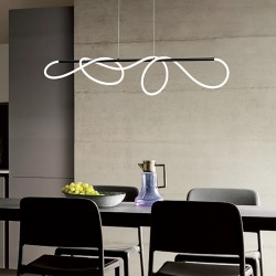 Lampadario ultramoderno Redo Group CORRAL 2115 40W LED 4080LM dimmerabile sospensione interno
