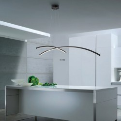 Lustre ultramoderne Redo Group KATANA 2102 45W LED 2710LM suspension intérieure dimmable