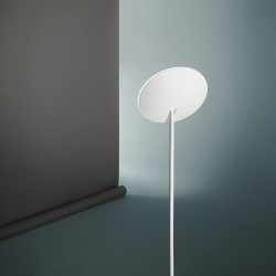 Perenz moderne Perenz OPHELIA 6586 B LED 24W 1900LM 3000 ° K lampadaire dimmable blanc diffuseur réglable IP20