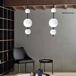 Lustre Sikrea Group TOLOMEO S1 4141 12W LED 1356LM 3000 ° K suspension intérieure moderne dimmable