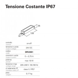 Accessorio Pan International NIP DRV2051 driver tensione costante