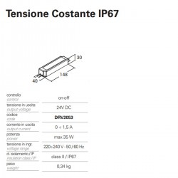 Trasformatore DRV2053 Pan International