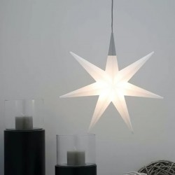 Lampadario stella 8 Seasons SHINING GLORY STAR 55 32048L LED IP44 polietilene
