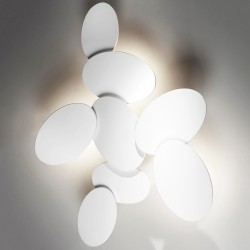 Plafonnier Led Cattaneo NINFEA 895-90P applique murale moderne dimmable