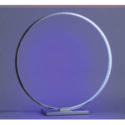 PL-RING abat-jour Led RGB lampe de table moderne en métal